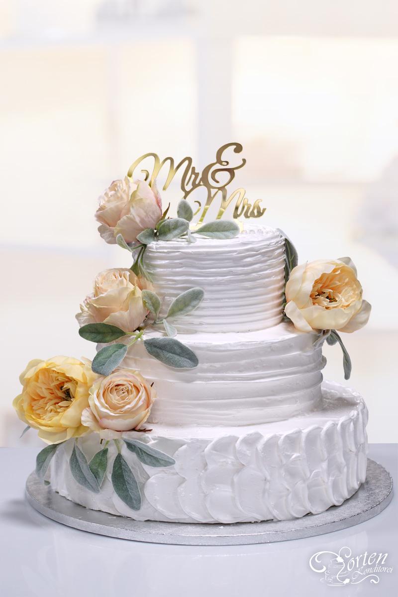 Naked Cake Hochzeitstorten Schlidt