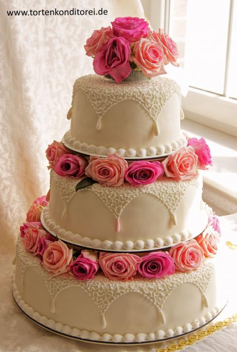 Hochzeitstorten klassisch hochzeitstorten - Hochzeitstorte dekorieren ...